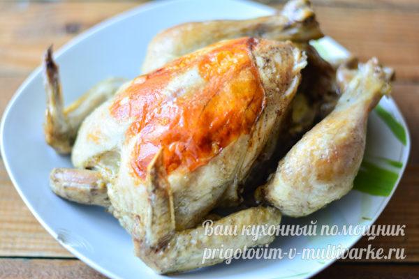 готовая запеченная курица