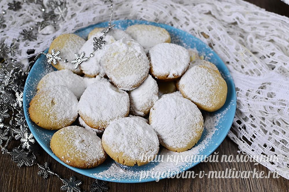 """Печенье """"Тающий снег"""""""