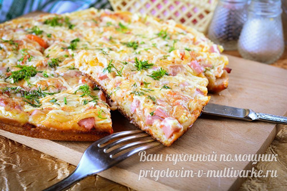 Пицца за 10 минут