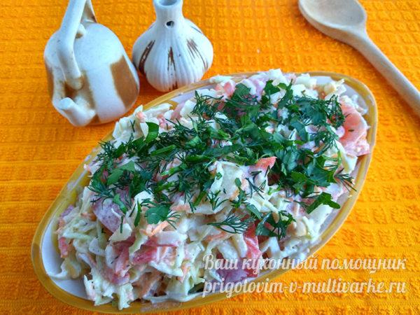 вкусный салат на каждый день