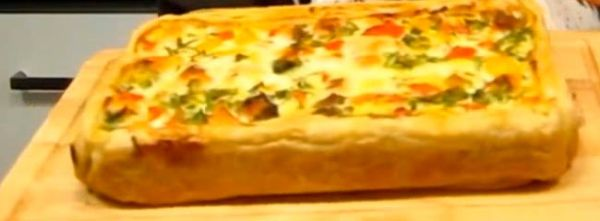 """Рыбный пирог как французский """"Киш"""""""
