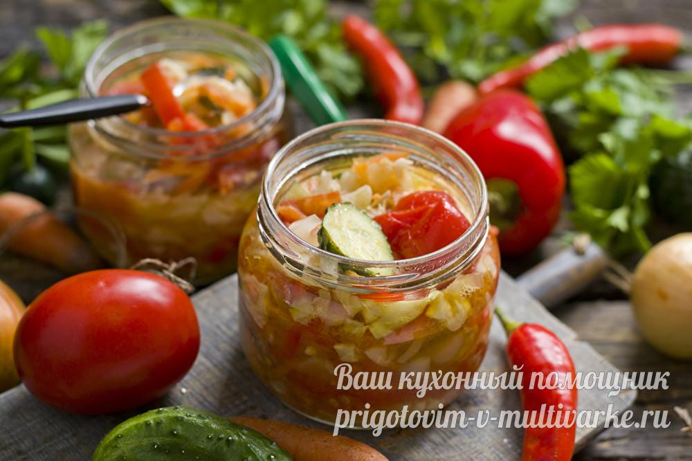 """Овощной салат """"Кубанский"""""""