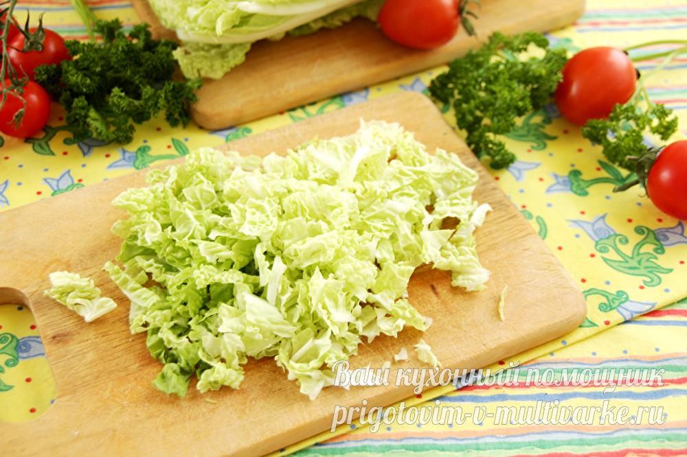 Салат моника с ветчиной и сыром изоражения