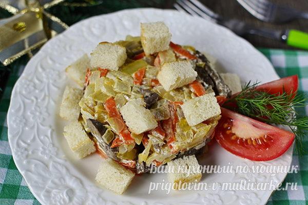 "готовый салат ""Обжорка"""
