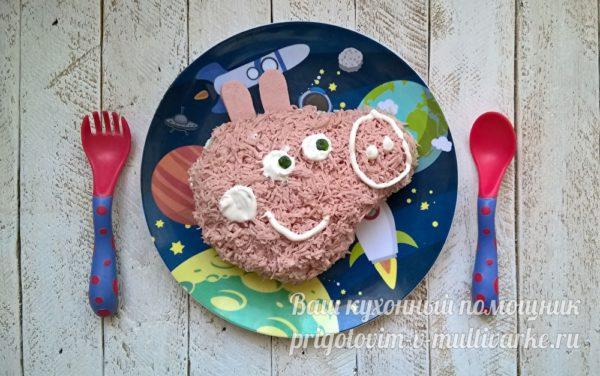 детский салат для праздника