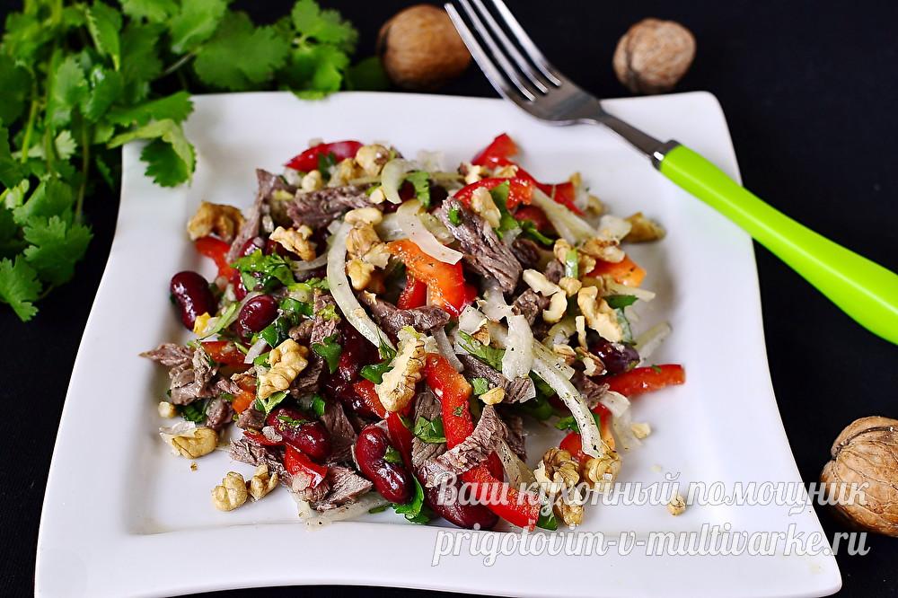 """Грузинский салат """"Тбилиси"""""""
