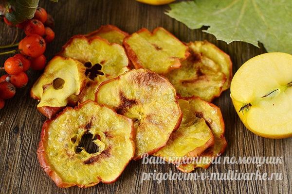 чипсы из яблок