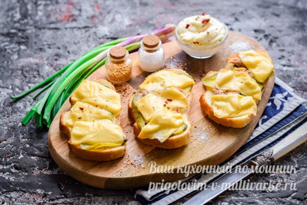 нежные бутерброды