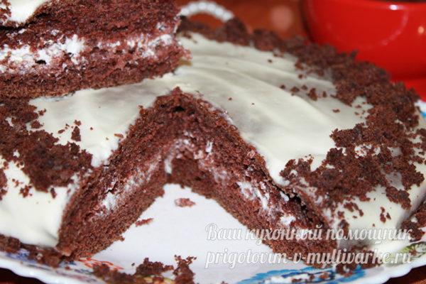 торт идеально пропитывается