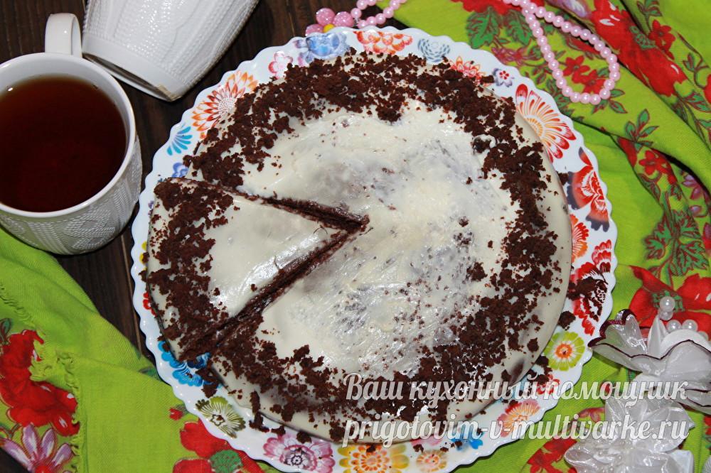 Быстрый нежный торт