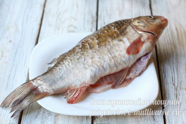 очищенная рыба