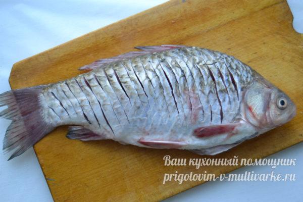 разделанная рыба