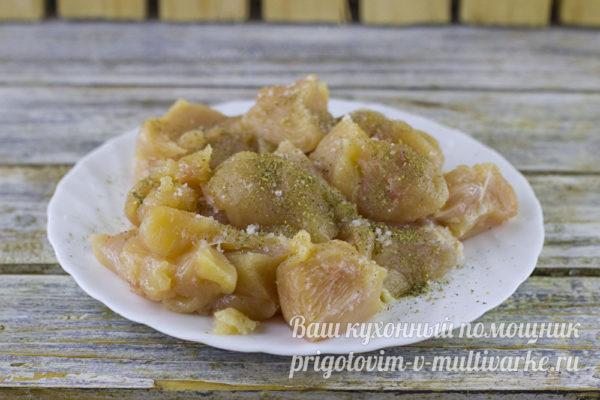 солим и перчим филе