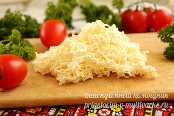 тертый плавленный сыр