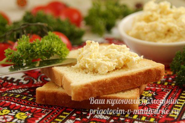 намазываем на хлеб