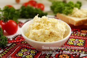 Салат белочка с сыром