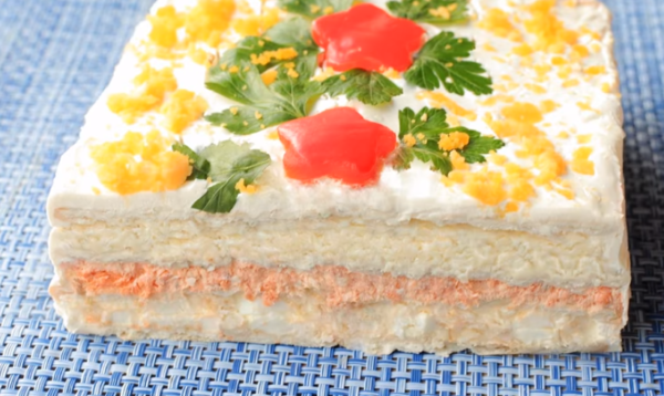 """Закусочный торт """"Нептун"""""""