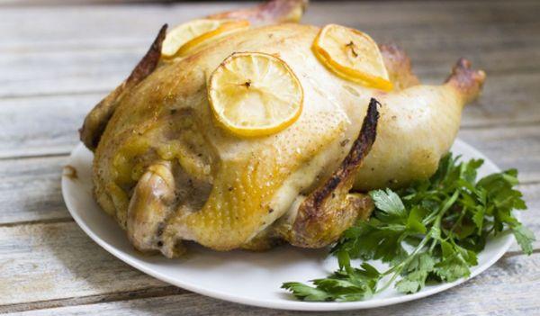 Курица в духовке с медом