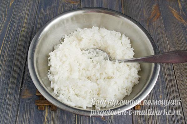 Отваренный рис