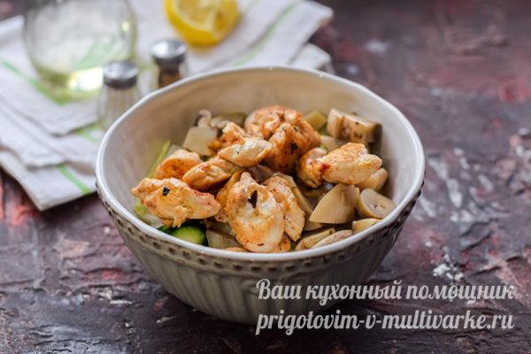 готовим вкусный салат
