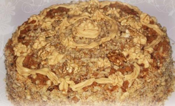 Торты ореховые: рецепты простые, в домашних условиях с фото