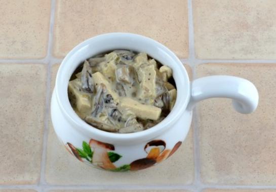 Жульен с курицей и грибами в духовке — классические пошаговые рецепты приготовления