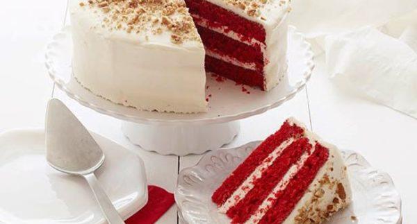 Торт красный бархат без красителя