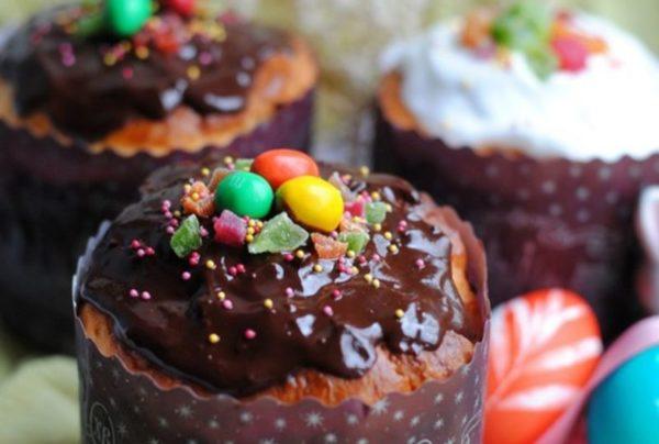Рецепт на кефире с шоколадной глазурью