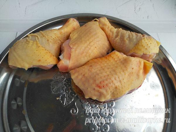 разделать курицу