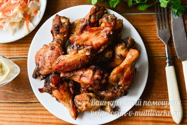 аппетитные крылышки