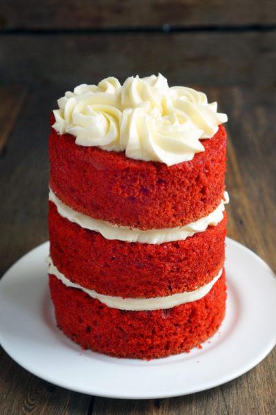 Торт красный бархат без добавления кефира