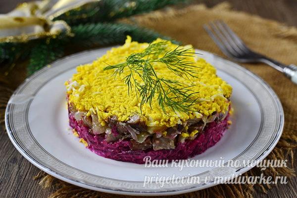 Сербский салат готов