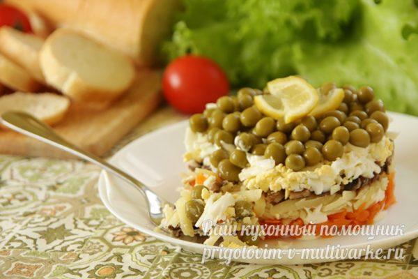 праздничный и вкусный салата