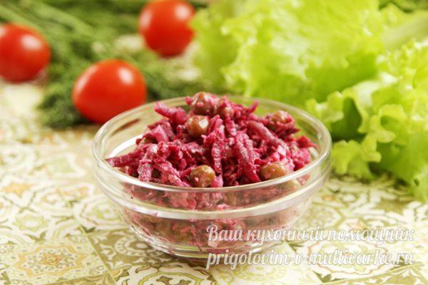 салат со свеклы
