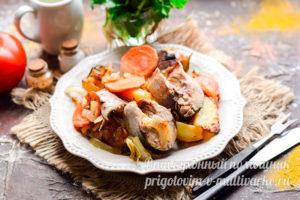 скумбрия с картошкой в духовке