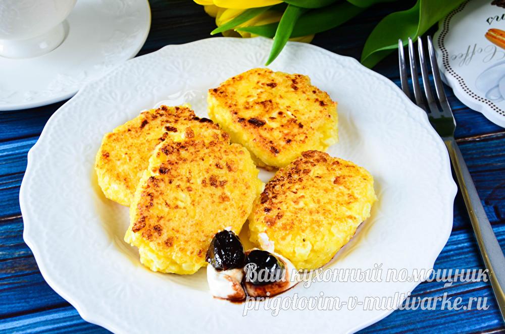 вкусные сырники без муки