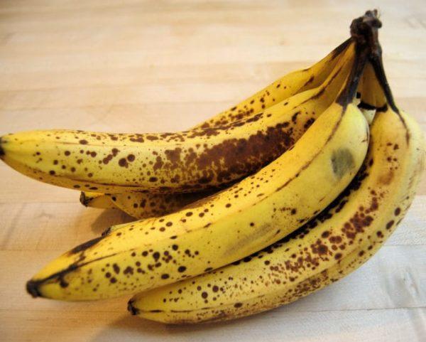 потемневшие бананы