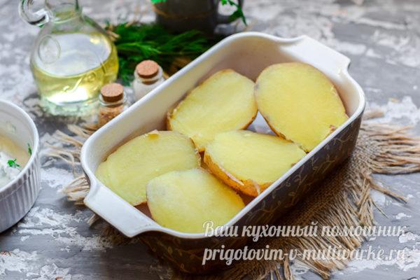 разрезать картошку