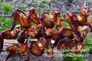 куриные крылья с хрустящей корочкой
