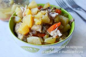 вкусная курица с картошкой