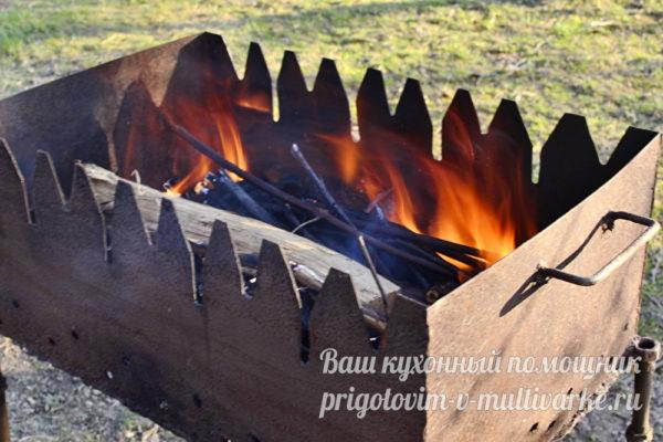 подготовить мангал