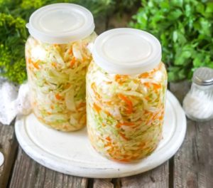 Рецепт хрустящей квашенной капусты