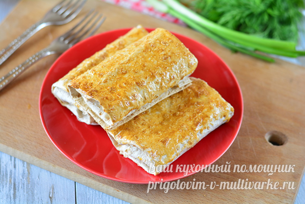 вкусные пирожки из лаваша