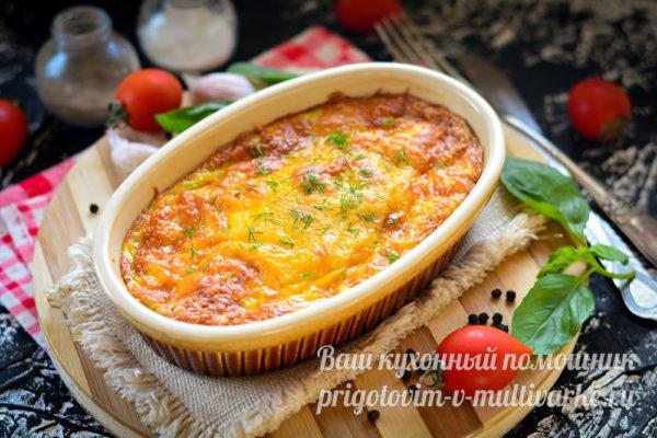 вкусное суфле