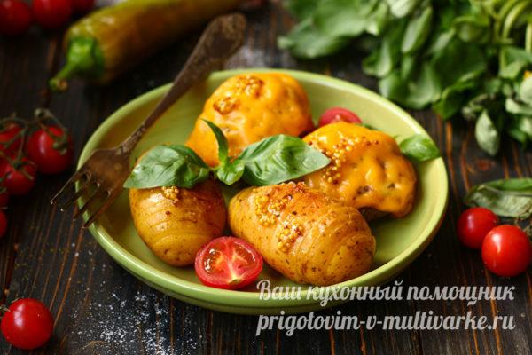картошка с котлетой