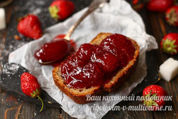 варенье на хлебе