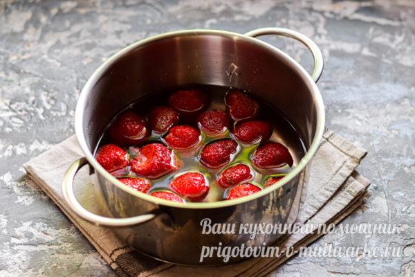 забрасываем ягоды