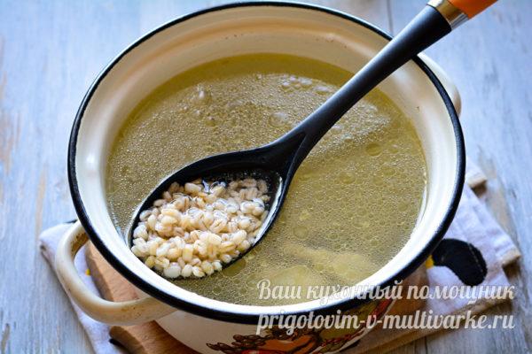 в суп