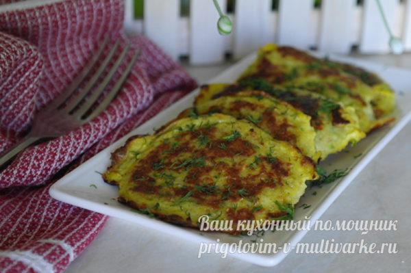 вкусные оладушки из кабачка