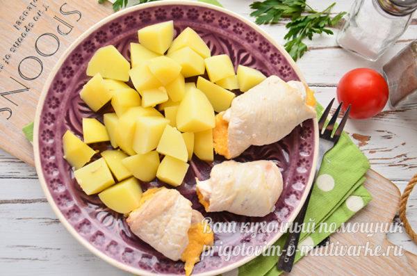 картошка и мясо